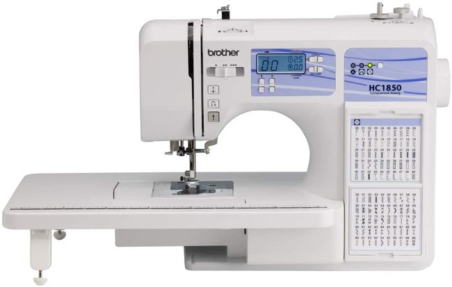 Brother HC1850- best sewing machine for combined sewing and quilting