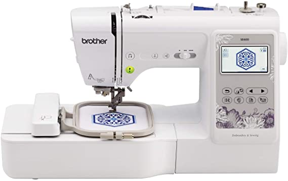 White Brother SE600- best sewing machine for embroidery for beginners