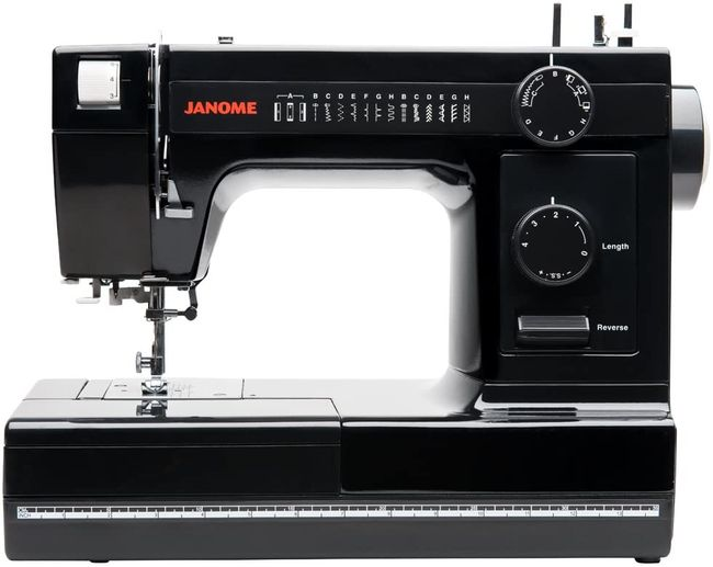 Black Janome HD 1000- oone of the best sewing machines for heavy use and everyday use
