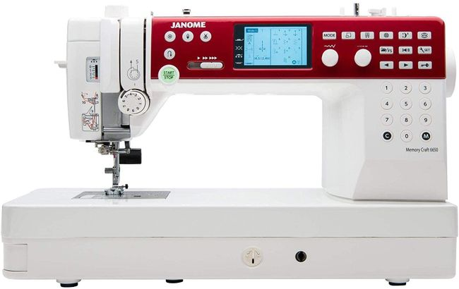 Best quilting machine- Janome MC6650 Sewing and Quilting Machine