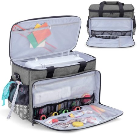 Sewing Machine carry case for carrying sewing machines- good sewing gift idea for sewists that travel a lot