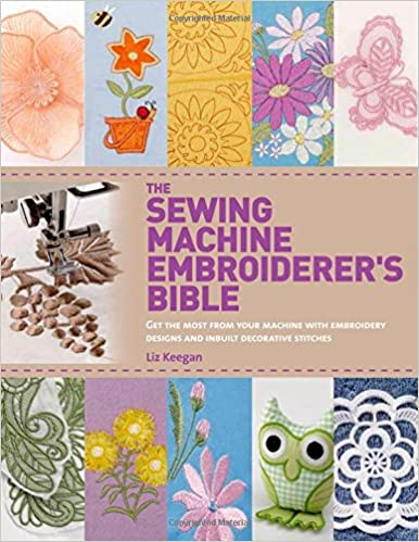 Sewing machine Embroiderer book cover