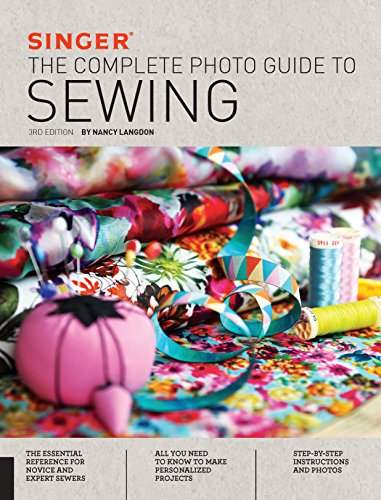 Singer Complete Guide to sewing book cover