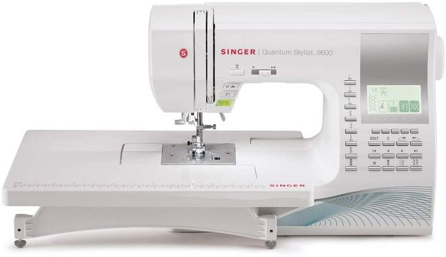 White Singer Quantum Stylist 9960- great sewing machine for experienced sewists