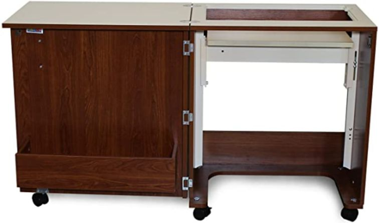 Brown and Cream coloured Arrow Judy Sewing Cabinet