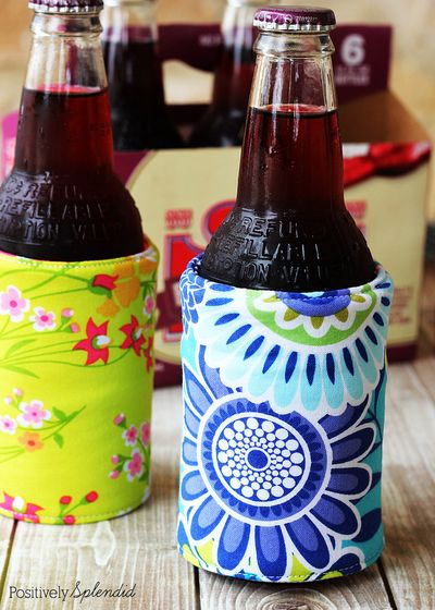 Insulated Drinks holder you can easily sew