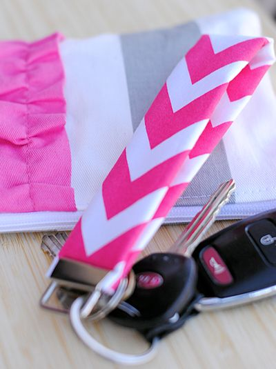 keyfob decoration- easy to sew