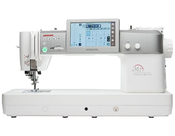 Janome Continental M7- the very best quilting machine